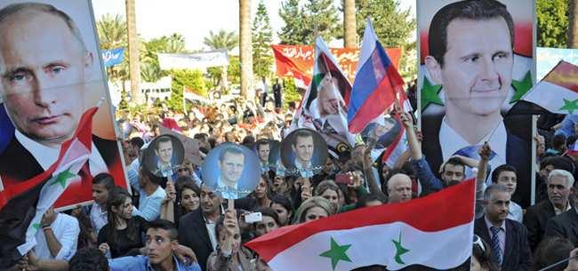 Путин невероятно популярен встолице Сирии  | Русская весна