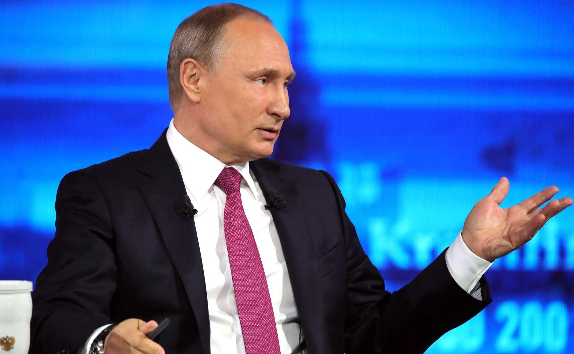 Самые яркие высказывания Путина на прямой линии | Русская весна