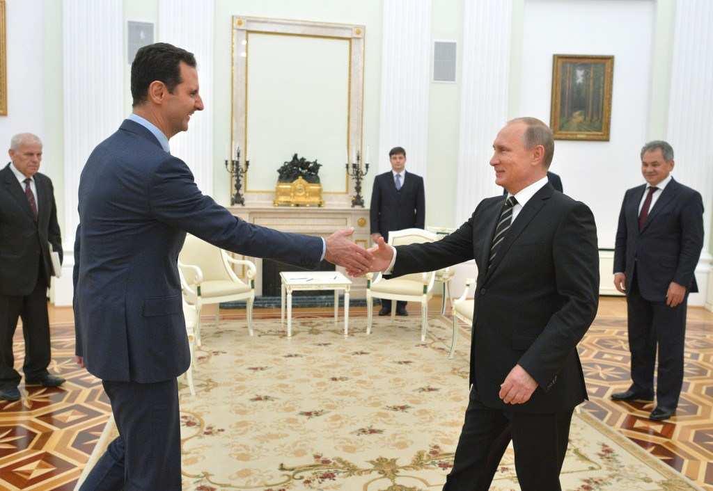 Асад поддержал идею создания морского пути Тартус-Севастополь | Русская весна