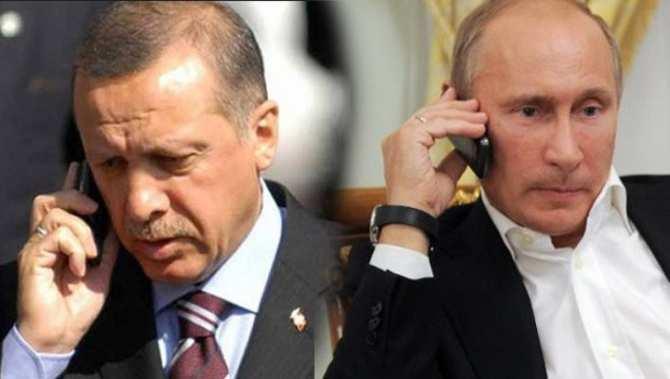 МОЛНИЯ: Путин проводит телефонный разговор с Эрдоганом | Русская весна