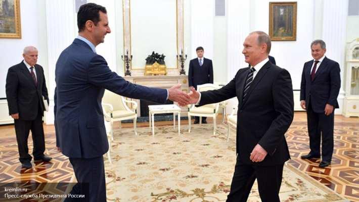 Кремль: Судьба Асада будет решаться после победы над терроризмом | Русская весна