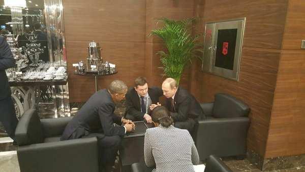 ВАЖНО: Путин и Обама на саммите G20 обсудили разрешение сирийского конфликта и ситуацию на Украине | Русская весна