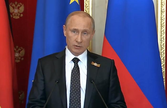 Путин призвал Киев прекратить экономическую блокаду Донбасса (ВИДЕО) | Русская весна