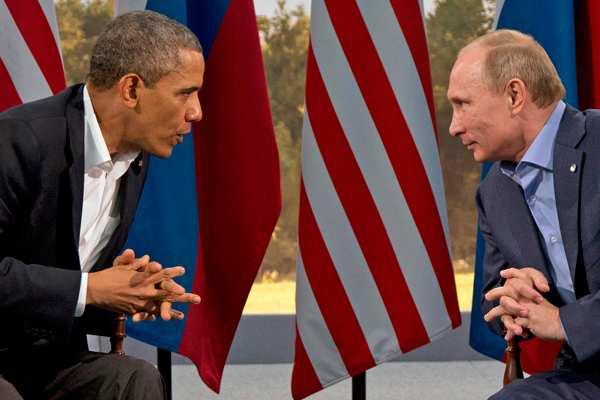 Путин рассказал об откровенном разговоре с Обамой, перспективах изоляции России и участии российских войск в войне в Сирии (ВИДЕО)   Русская весна