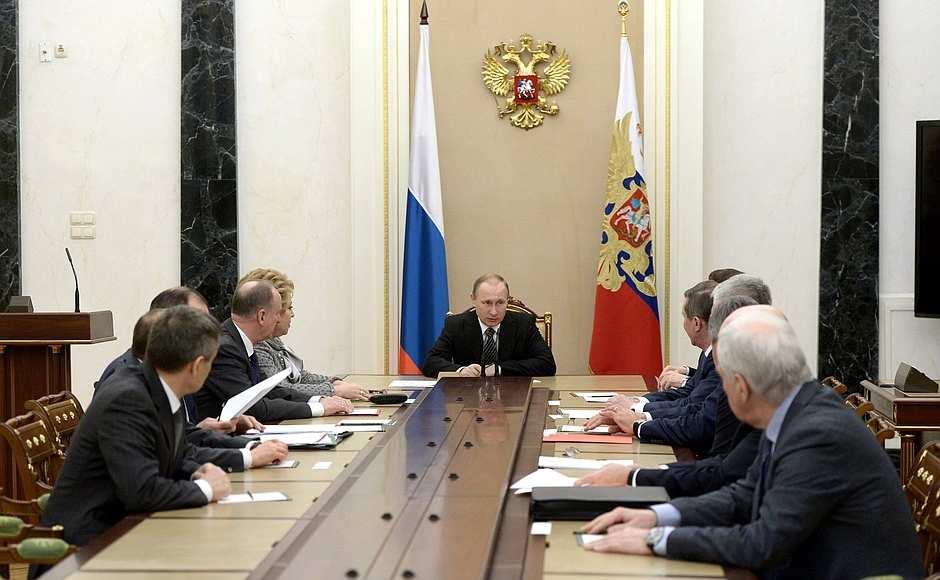 ВАЖНО: Путин провел совещание СОВБЕЗа в связи с обострением обстановки на сирийско-турецкой границе   Русская весна