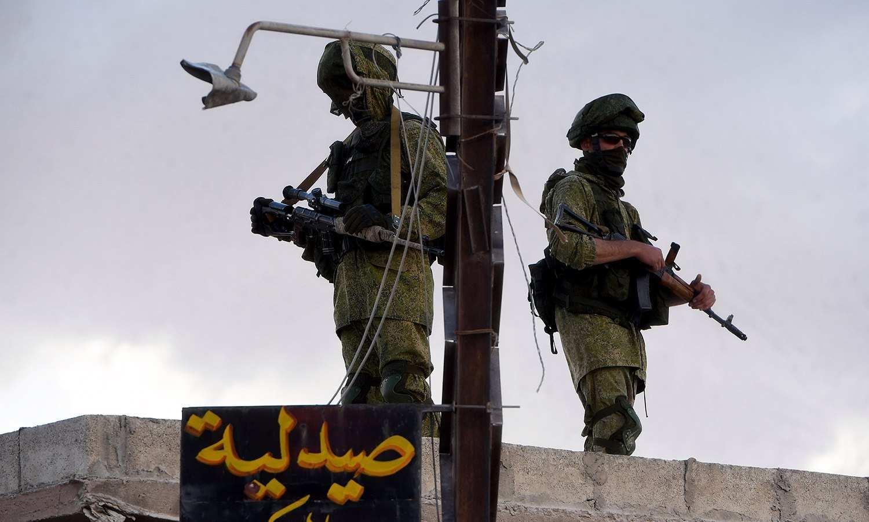 ВАЖНО: Русский спецназ ведет охоту на боевиков в Сирии — уникальные кадры (ВИДЕО 18+) | Русская весна