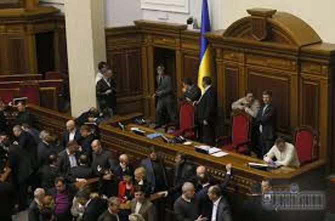 Работу Рады блокируют, чтобы не принимать закон об импичменте президента   Русская весна