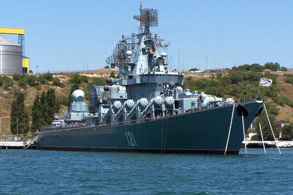 Командир крейсера «Москва» рассказал, против кого применит «все оружие корабля» (ВИДЕО) | Русская весна