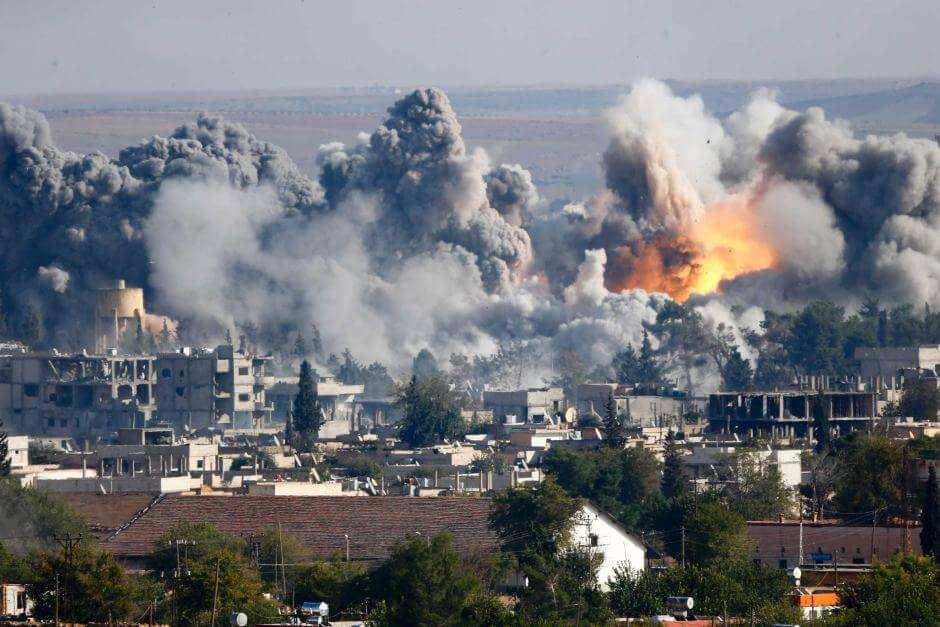 ВАЖНО: в результате авиаударов ВКС РФ и ВВС САР по Ракке уничтожены 2 главаря ИГИЛ и десятки террористов | Русская весна