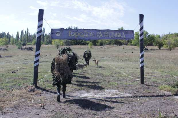 Разведчики Народной милиции отработали захват «языка» (ФОТО)   Русская весна