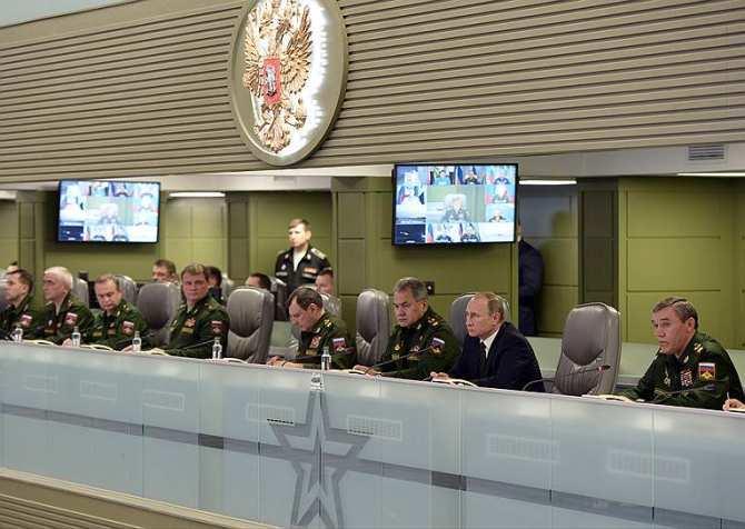Вчера была война: Путин, Центр управления обороной РФ, ИГИЛ и крылатые ракеты (ФОТО)   Русская весна