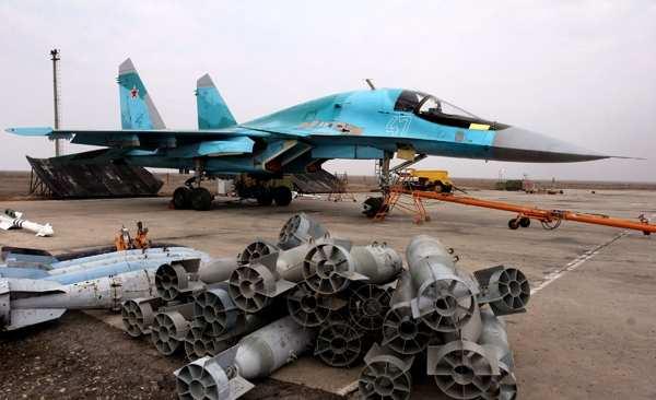 Российские Су-34начали оснащать вСирии ракетами «воздух-воздух» | Русская весна