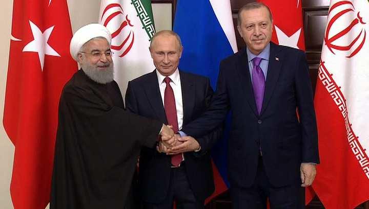 «Знаковое событие»: Путин, Эрдоган и Рухани согласовали совместное заявление по Сирии (ФОТО, ВИДЕО) | Русская весна