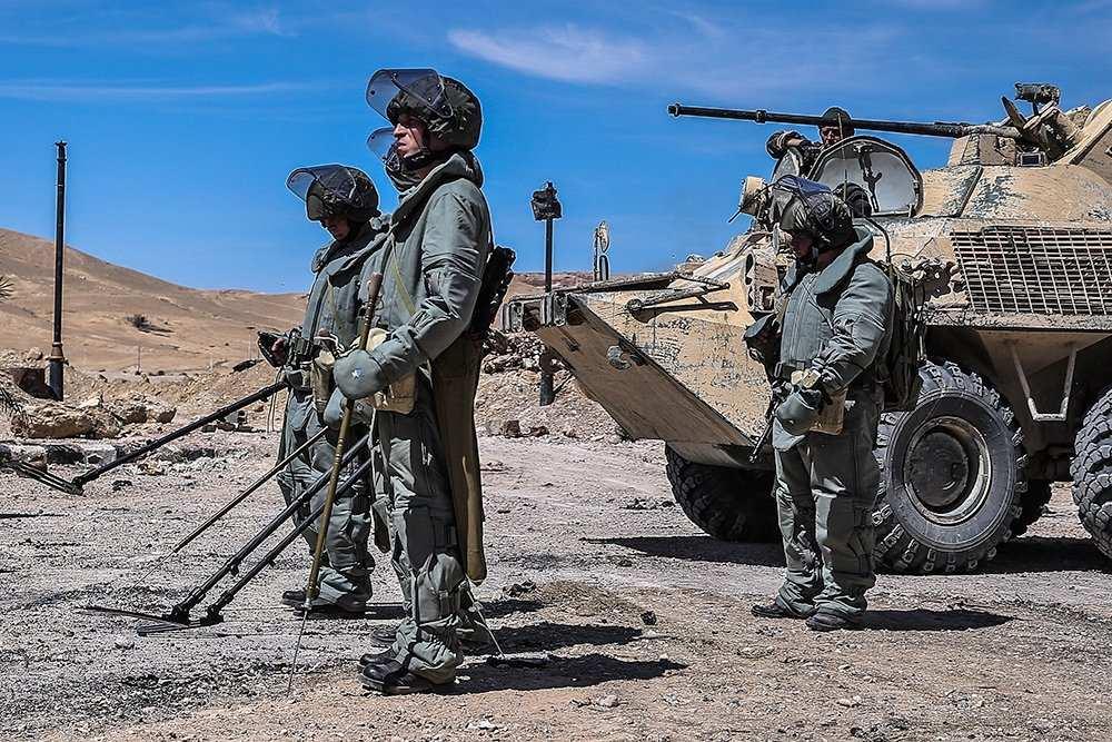 В Пальмиру прибыл второй отряд российских саперов | Русская весна