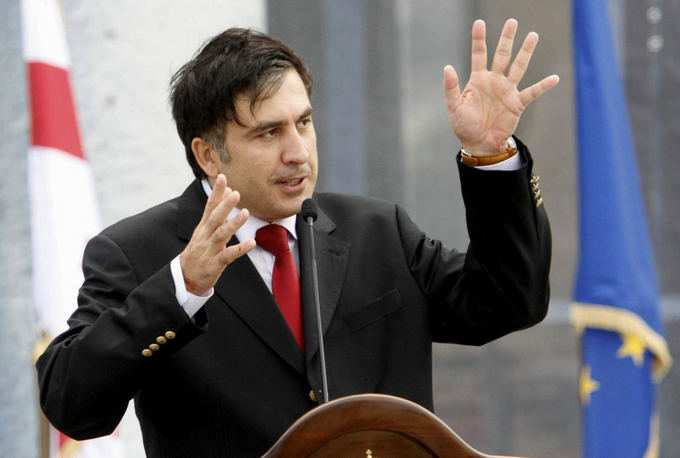 Саакашвили: через полгода яначну голодать (ВИДЕО)   Русская весна