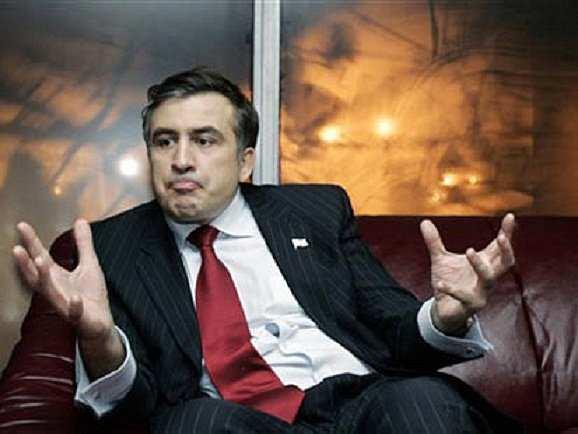 Кружным путем: Саакашвили рассказал, как пойдет на Киев | Русская весна