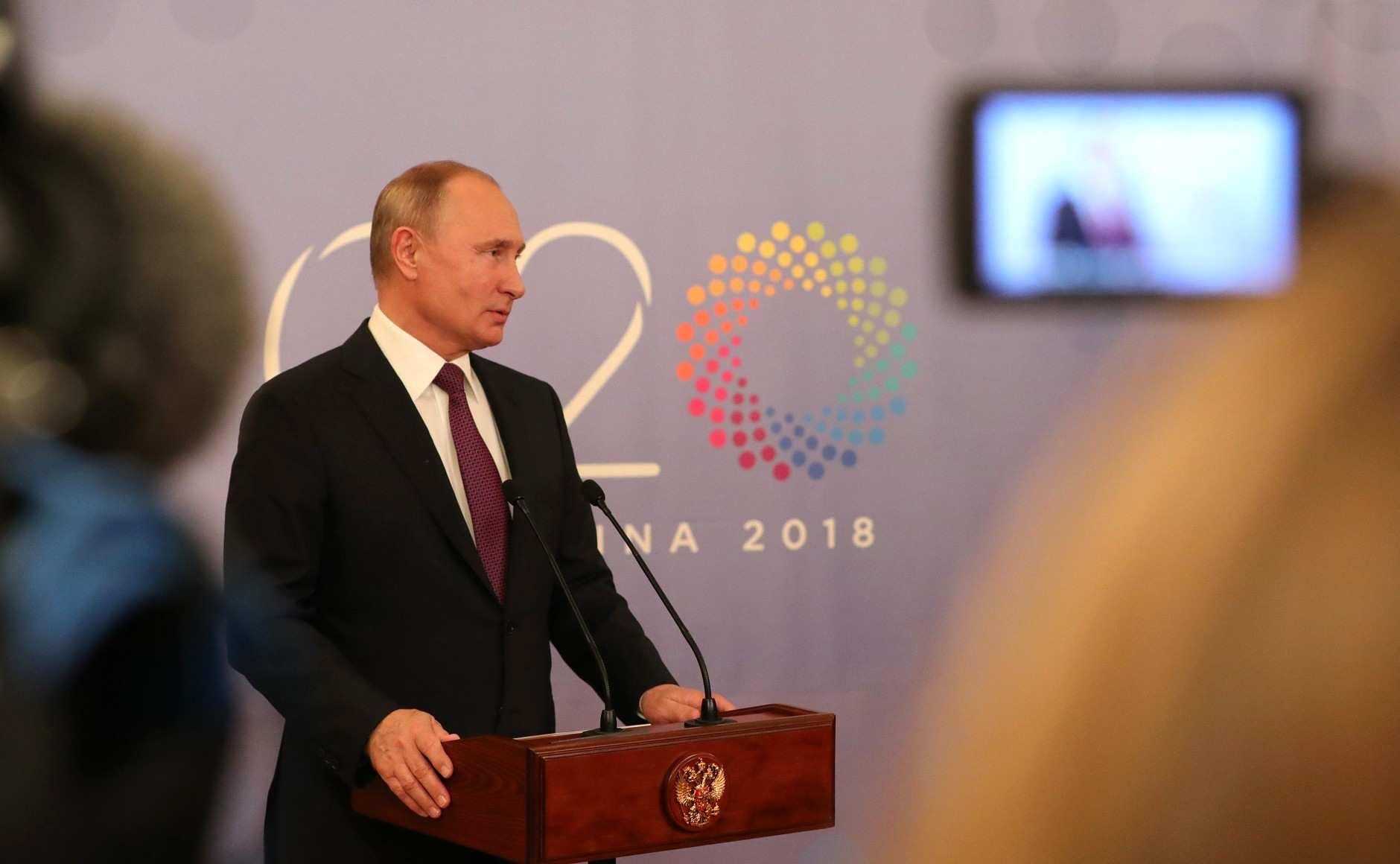 «Кому война, акому мать родная», — Путин обУкраине наG20 (ВИДЕО) | Русская весна