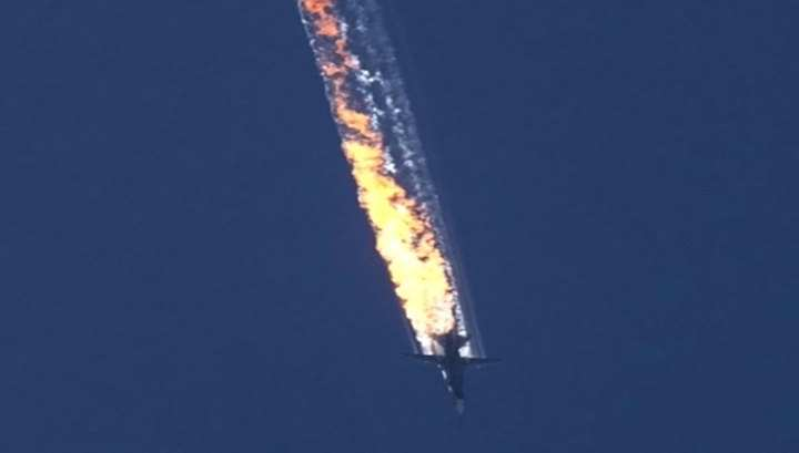 Пилоты F-16сбили Су-24после информирования главкома ВВСТурции | Русская весна