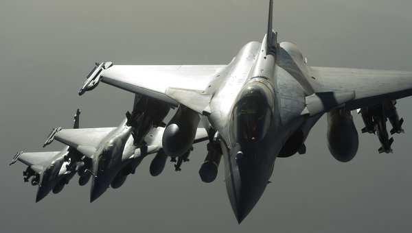 ВВСФранции задвое суток уничтожили 35объектов ИГИЛ вСирии | Русская весна
