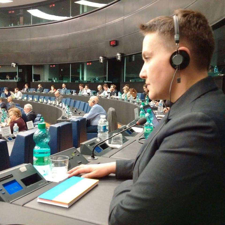 Савченко опровергла слухи о побегевРоссию (ФОТО)   Русская весна