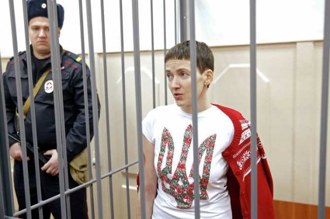 Доктор Лиза: Савченко, объявившая голодовку, пьет белковые препараты | Русская весна