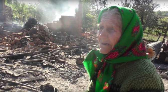 Бабушка из Горловки: «Это не война! Нас просто убивают!» (ВИДЕО)   Русская весна