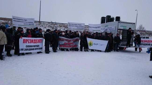 Всеукраинская акция протеста: аграрии перекрывают трассы по всей стране (ФОТО, ВИДЕО) | Русская весна