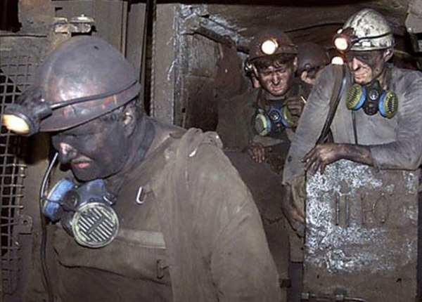 ВЛьвовской области шахтеры вышли намитинг, требуя зарплату  | Русская весна