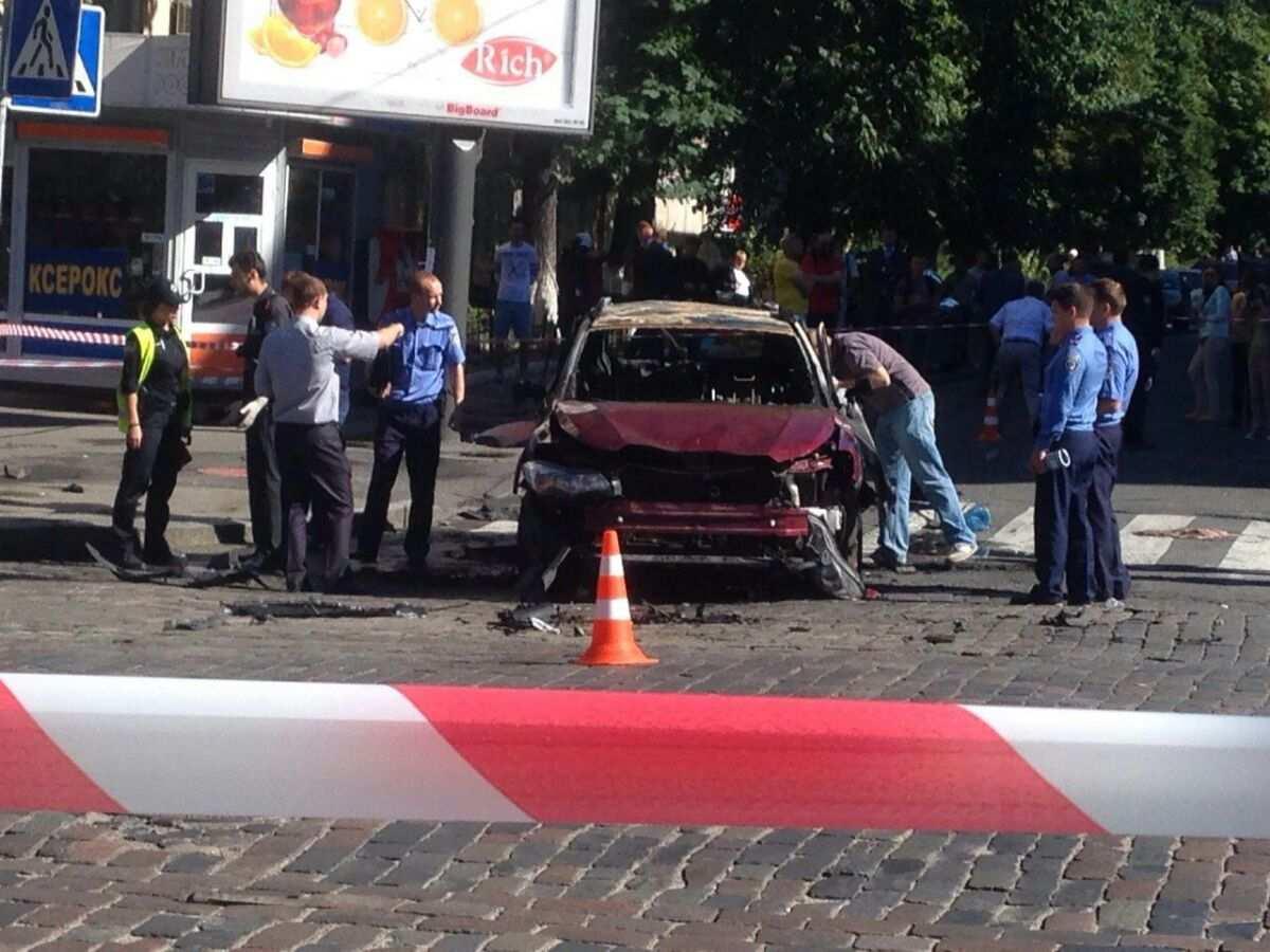 На Украине возбудили дело из-за публикации видео с места убийства Шеремета | Русская весна