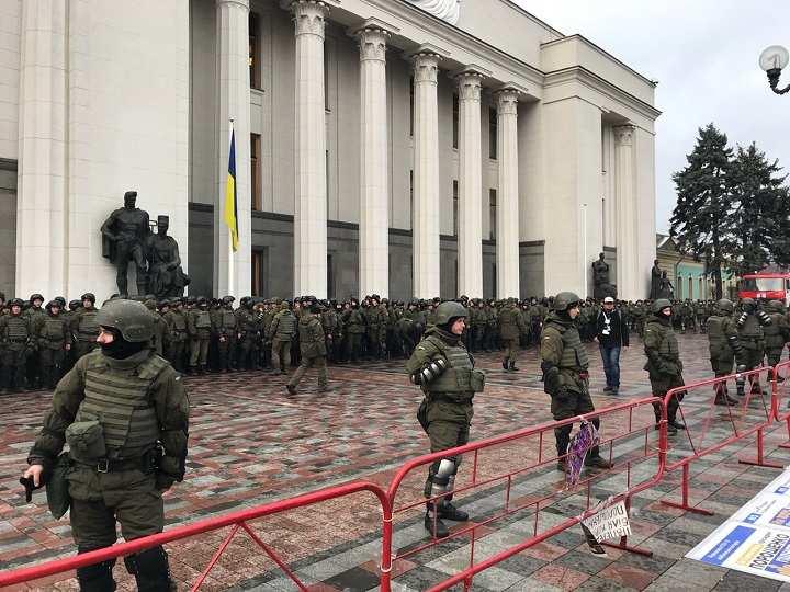 Полиция перекрыла центральные улицы Киева | Русская весна