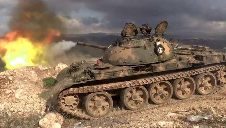 Армия Сирии наступает, отражена попытка прорыва боевиков у Пальмиры | Русская весна