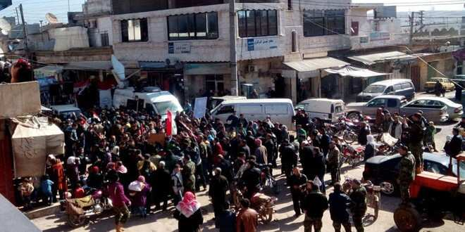 Свободные от террористов: жители Нубль иАз-Захра отмечают победу Сирийской армии наднаемниками режимов Эрдогана и АльСауда (ФОТО, ВИДЕО) | Русская весна