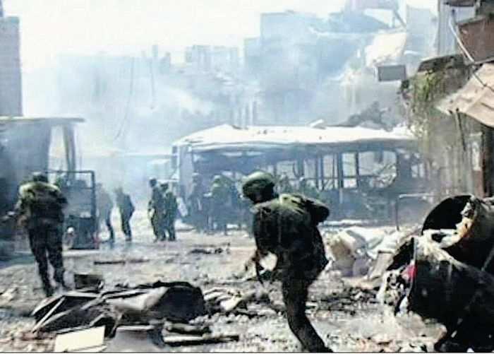 Сводка от «Тимура»: идут ожесточенные бои за Дейр эз-Зор, САА захватила крепость Буджак | Русская весна