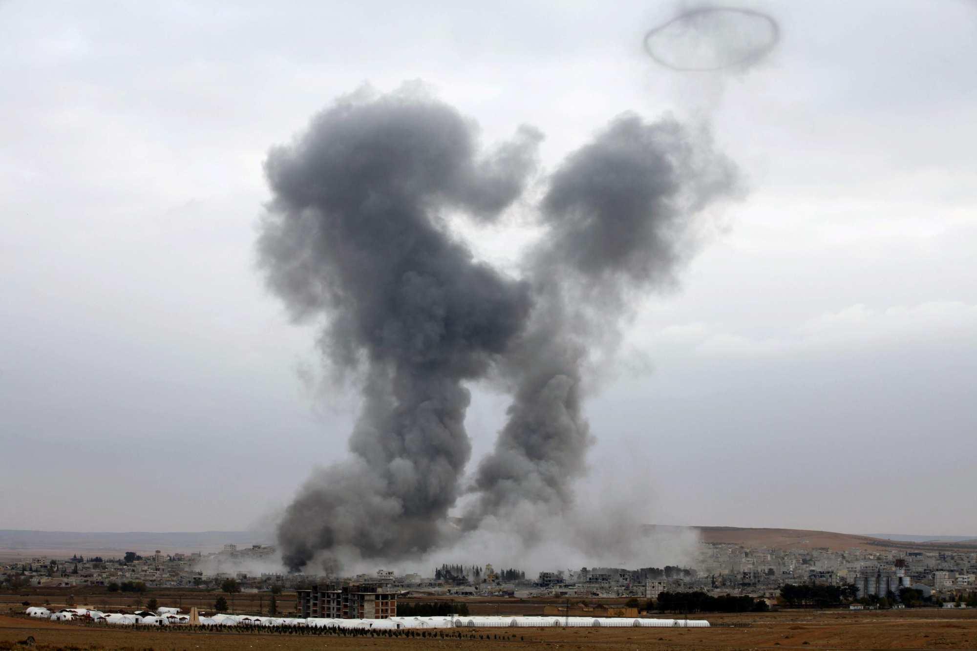 Самолёты неизвестной страны атакуют позиции САА и убивают сирийских солдат | Русская весна