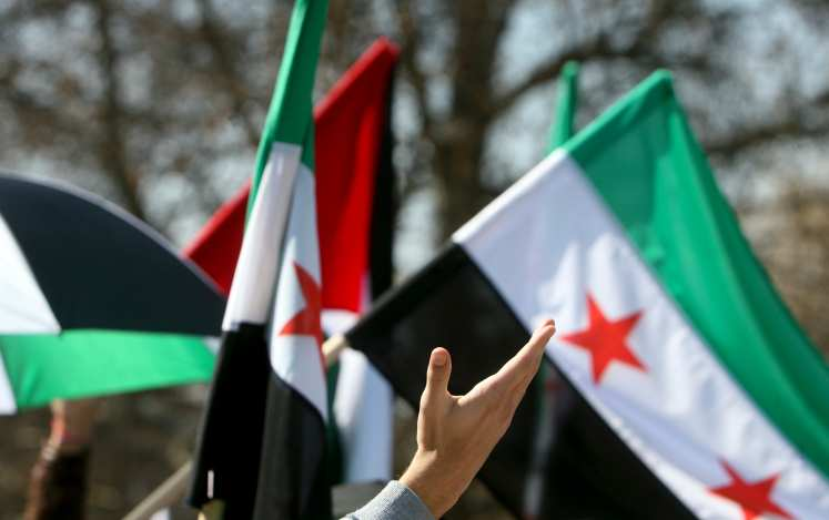 Сирийская оппозиция требует отВКСРФпрекращения огня, потому что«это поможет борьбе стеррором»    Русская весна