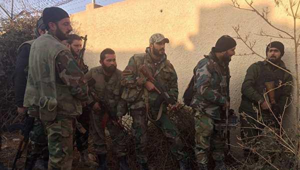 Лицом к лицу с врагом: наступление сирийской армии на востоке Дамаска | Русская весна