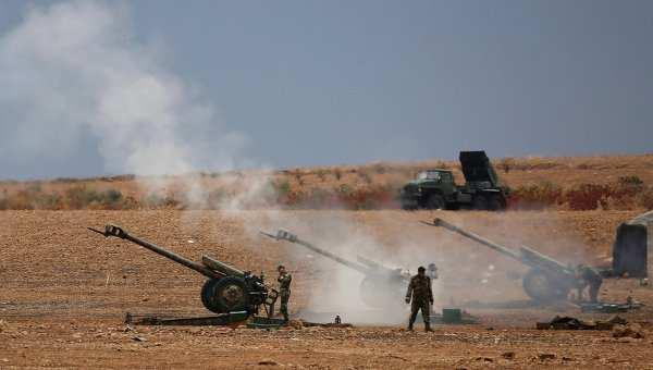 Сирийская армия проводит артподготовку перед наступлением на Идлиб | Русская весна