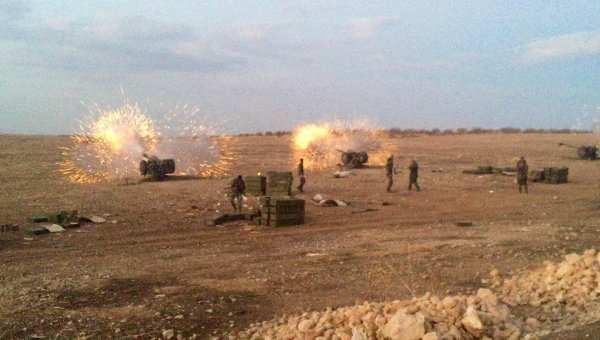 Армия Сирии наступает на Телль-Рифаат, угрожая выйти к тыловым базам террористов | Русская весна