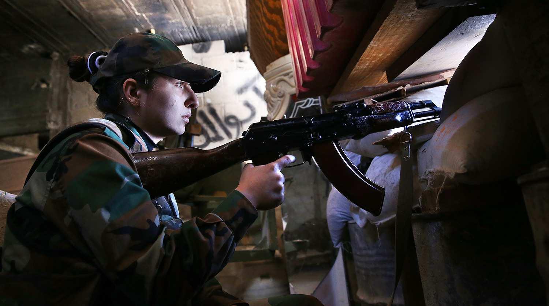 Сирийский женский батальон: как девушек-добровольцев учат воевать с ИГИЛ (ВИДЕО) | Русская весна