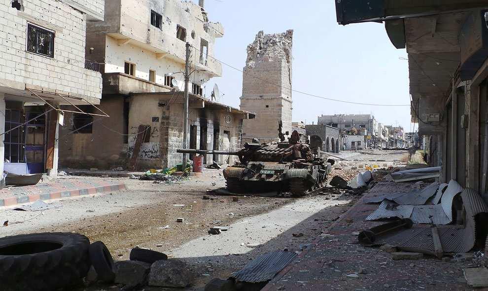 Боевики ИГИЛ спасаются бегством (ВИДЕО) | Русская весна