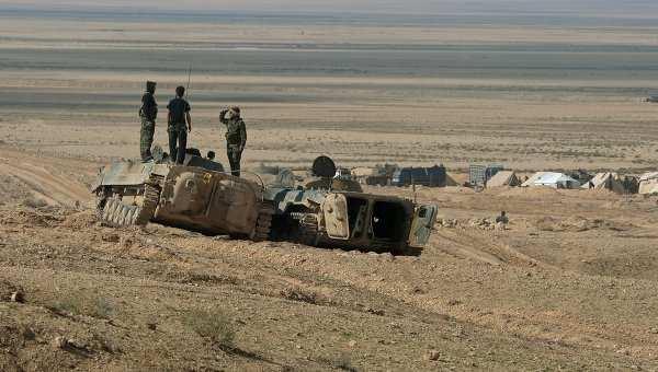 Сирийская армия ведет боисИГИЛв2кмотгорода Пальмира   Русская весна