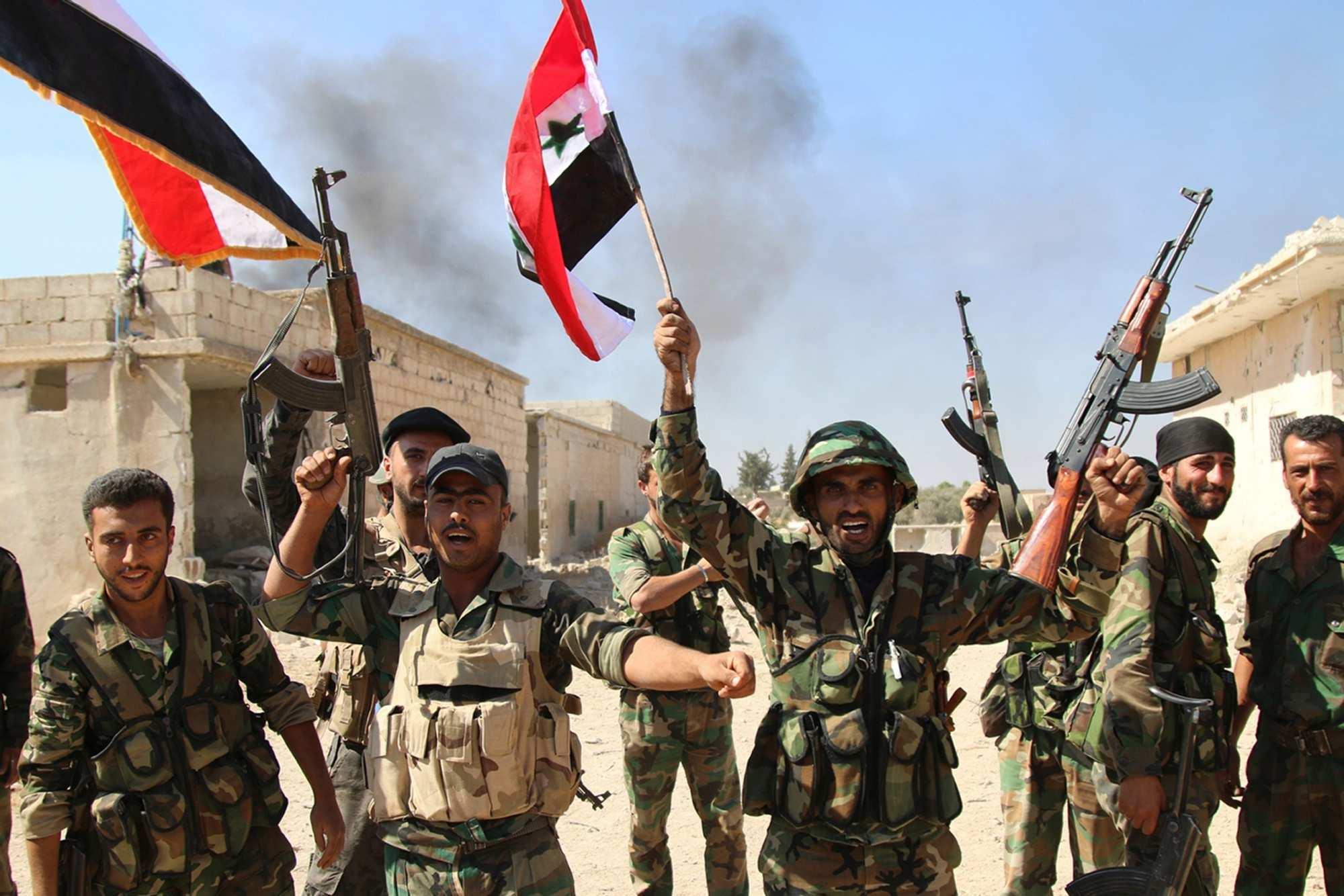 Армия Сирии полностью освободила оттеррористов воинскую часть ПВОвАлеппо | Русская весна