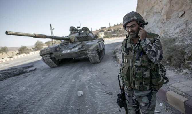 СРОЧНО: взят н.п. Таннура, боевики в панике от ударов ВКС России и наступления сирийских войск, которые затягивают петлю вокруг Алеппо   Русская весна