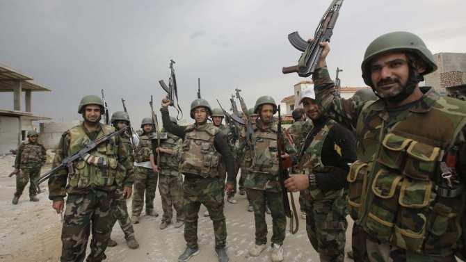Кадры боев: Армия Сирии продвигается под Дамаском, уничтожая боевиков (ВИДЕО, КАРТА) | Русская весна