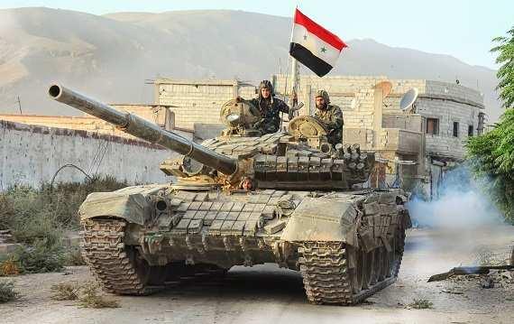 Ударная группировка Армии Сирии готовится кброску наРакку | Русская весна