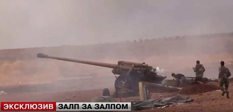 Сирийская армия сражается сбоевиками законтроль трассы Дамаск-Алеппо (ВИДЕО) | Русская весна