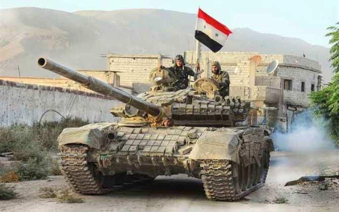 Армия Сирии уничтожила силы «Аль-Каиды», окружавшие военную базу под Дамаском (КАРТА) | Русская весна