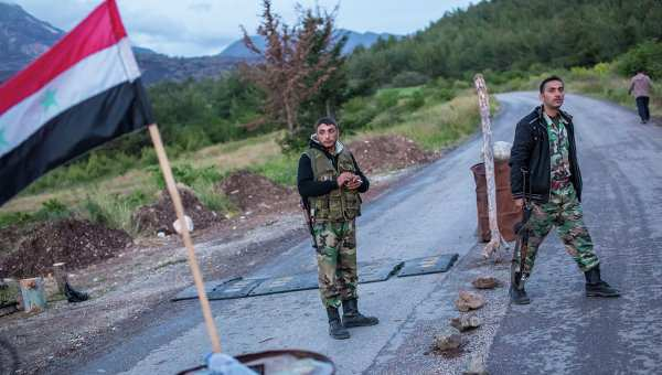 Армия Сирии восстановила контроль надчастью границы сТурцией | Русская весна