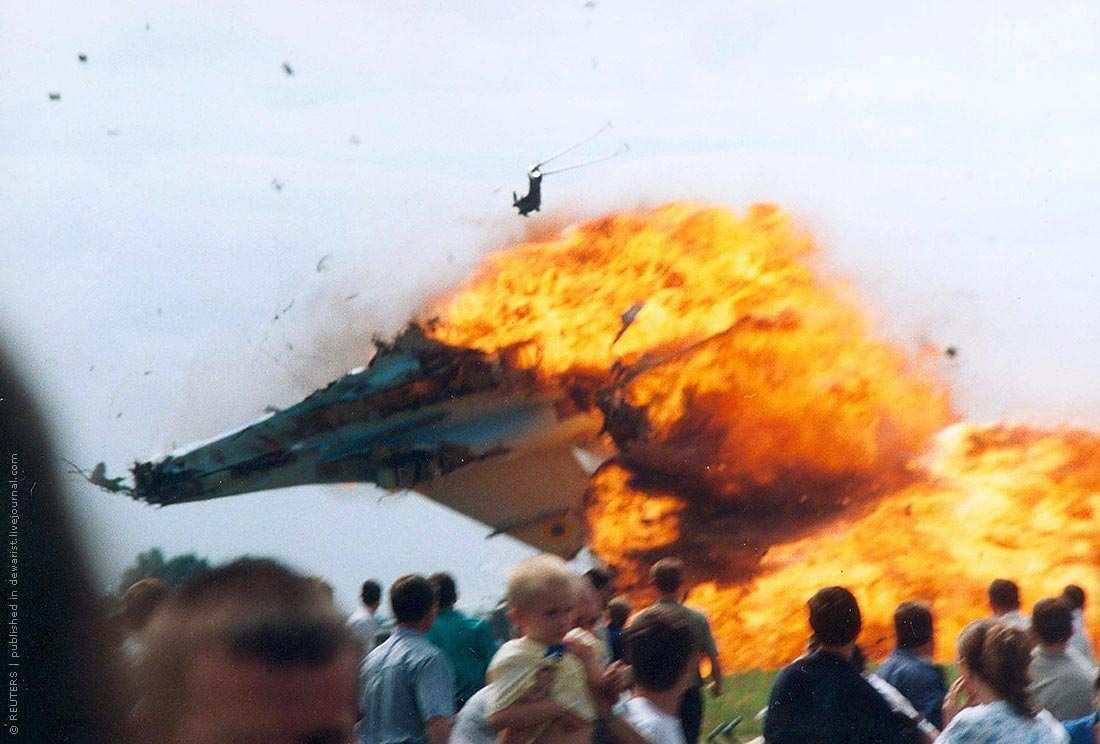 В небе над Украиной: 15 лет назад произошла одна из крупнейших катастроф в истории авиашоу (ФОТО)   Русская весна