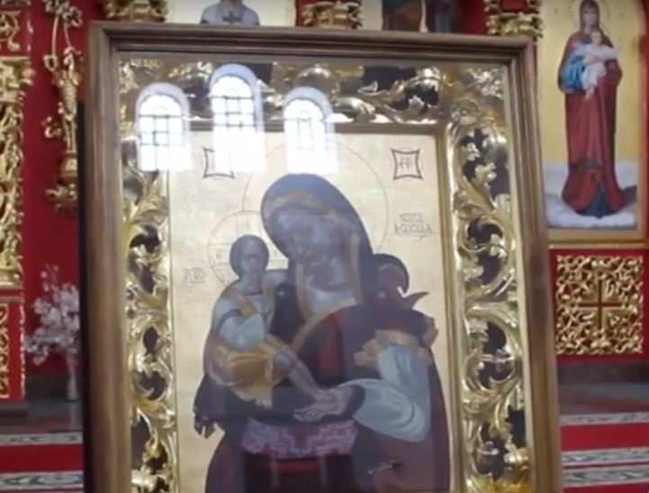 «Это скорбь Луганска, вы еще узнаете…» — о пророческой иконе в храме ЛНР (ВИДЕО)   Русская весна